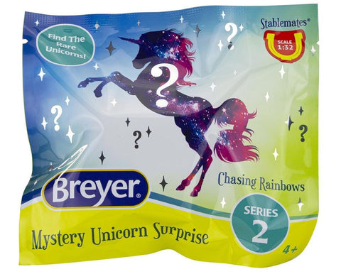 Breyer® Mystery Unicorn Surprise: Chasing Rainbows Blind Bag