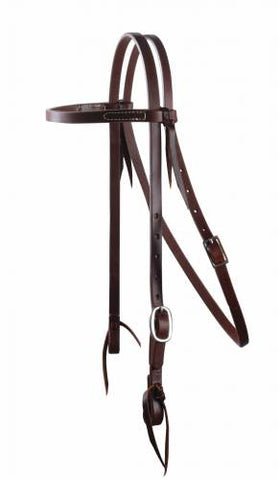 "Professionals Choice Schutz Ranchhand 5/8"" Oiled Harness Leather Headstall"