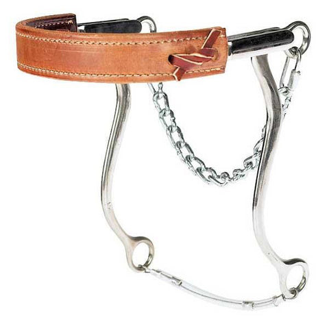 Reinsman Flat Leather Pony Hackamore
