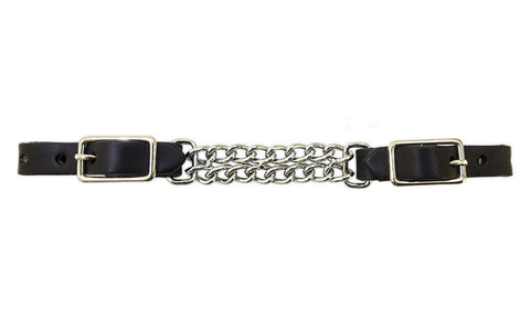 Tory Leather Double Curb Chain