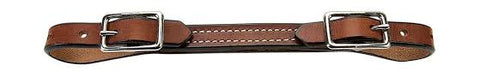 Weaver Double Buckle Bridle Leather Curb Strap