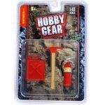 Hobby Gear 15105 1/10 HGPT RC Accessory Pack (Jerry Can, Axe, Fire extinguisher set)