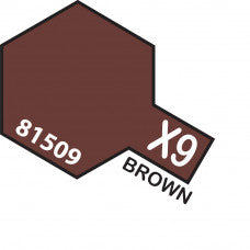 Tamiya X-09 T81509 Acrylic Mini Brown
