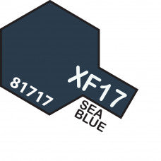 Tamiya XF-17 T81717 Acrylic Mini Sea Blue