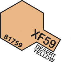 Tamiya XF-59 T81759 Acrylic Mini Desert Yellow