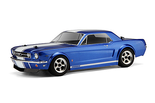 HPI 104926 1966 Mustang GT Coupe Clear Body Shell