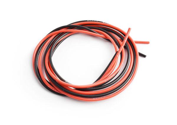 TornadoRC 1307-20 Silicone wire 20AWG (1m red/1mblack)