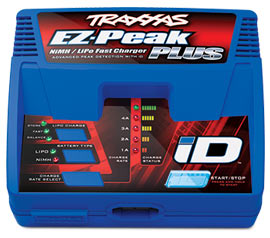 Traxxas 2970A EZ-Peak® Plus 4-amp NiMH/LiPo Fast Charger with iD™ Auto Battery Identification - AU