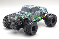 DISC Kyosho 1/10 EP 2WD MT R/S Monster Truck T1 Green
