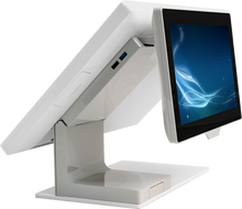 Load image into Gallery viewer, Plum Station POS (White) with 10.1 In. LCD Customer Display