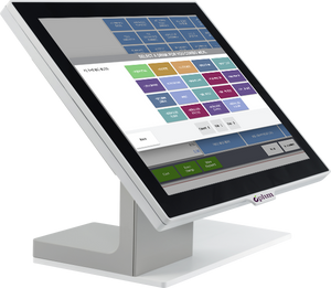Plum Station POS (White) with 10.1 In. LCD Customer Display