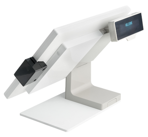 Plum Station POS (White) with 2x20 Customer Display