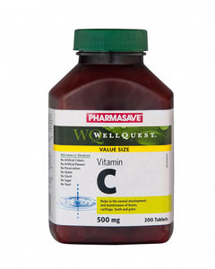 Vitamin C 500mg 200 tablets