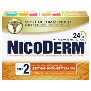NICODERM STEP 2 24 HOUR 7 PATCHES