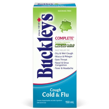 BUCKLEY'S COUGH COLD & FLU 150mL