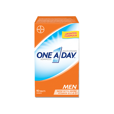 ONE A DAY MEN ADVANCED 90 TABLETS