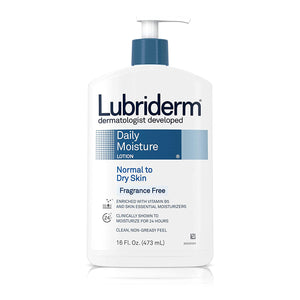 LUBRIDERM ORIGINAL LOTION FOR NORMAL TO DRY SKIN 480mL