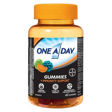 ONE A DAY + IMMUNITY SUPPORT GUMMIES 60