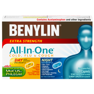 BENYLIN ALL IN ONE DAY & NIGHT 24 CAP