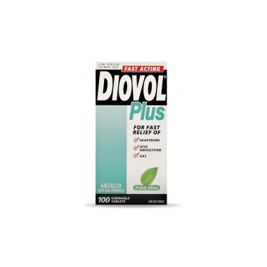 DIOVOL PLUS CHEWABLE TABLETS FREST MINT 100 PACK