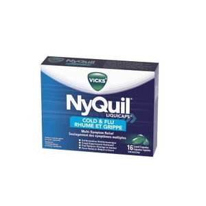 NYQUIL COLD & FLU 16 LIQUID CAPS