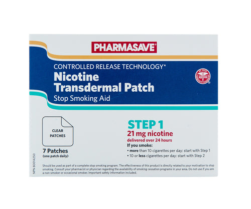 NICOTINE TRANSDERMAL PATCH STEP 1, 7 PATCHES