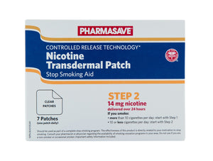 NICOTINE TRANSDERMAL PATCH STEP 2, 7 PATCHES