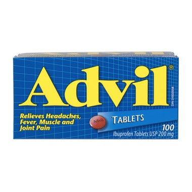 ADVIL 200MG 100 TABS