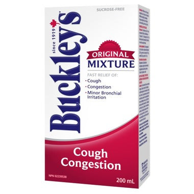 BUCKLEY'S COUGH & CONGESTION 200mL