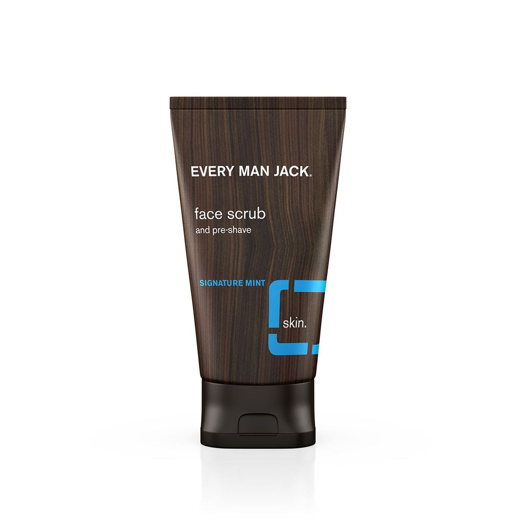 EVERY MAN JACK FACE SCRUB SIGNATURE MINT 150ML