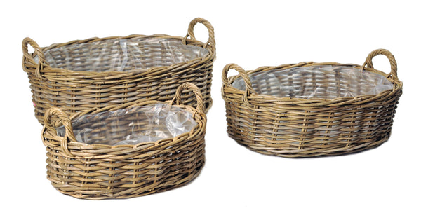 Desi Basket Oval Wide -F- Nat. S3 L41/58W31/47H14/