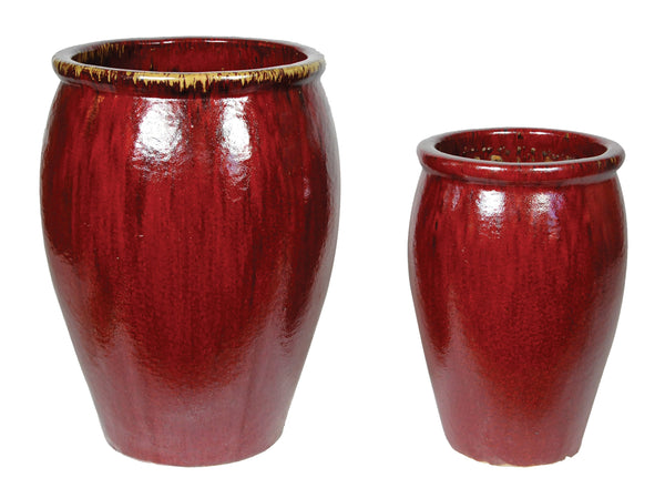 Glorious Chic Stretch Pot Oxblood S2 D20/56H24/69