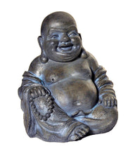 Asia Buddha Laugh Grey W27H31