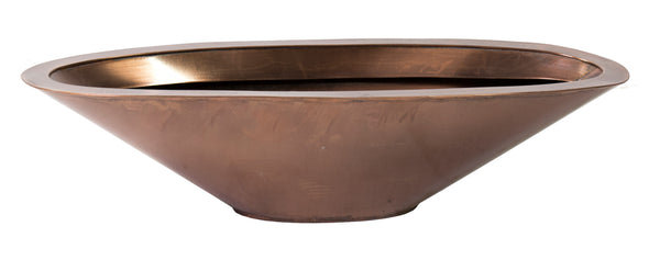 Zinc Copper Boat Oval L53W18H13
