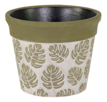 Shine Anne Planter Green D20.5H16.5
