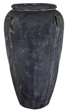 Glazed Urn Antique Grey D58H97