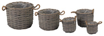 Bobs Chip Basket Pot Grey S5 D19/39H16/31