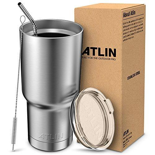 Atlin Tumbler Travel Mug Water Coffee Cup For Home, Office, School Atlin Sports