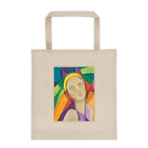 Default Title Eva model | Cotton canvas Tote bag Kadance Shop