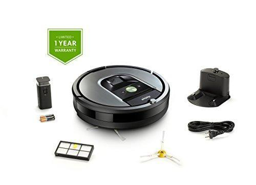 iRobot Roomba 960 Robot Vacuum with Wi-Fi Connectivity, Works with Alexa, Ideal for Pet Hair, Carpets, Hard Floors iRobot