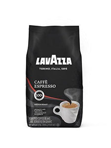 Lavazza Caffe Espresso Whole Bean Coffee Blend, Medium Roast, 2.2-Pound Bag Lavazza
