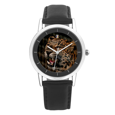 Leopard Face Watch - diameter - 28mm For-Her Leopard Face Watch by Kadance Shop JetPrint Fulfillment