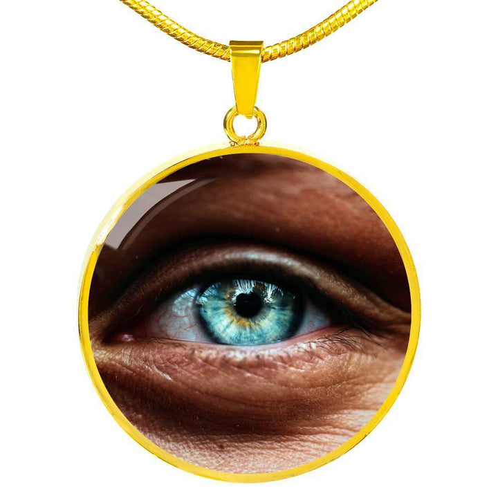 Jewelry Luxury Necklace (Gold) / No Luxury Necklace - Eye, I See You ShineOn Fulfillment