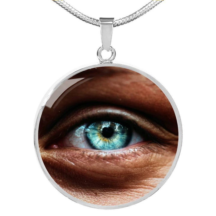 Jewelry Luxury Necklace (Silver) / No Luxury Necklace - Eye, I See You ShineOn Fulfillment