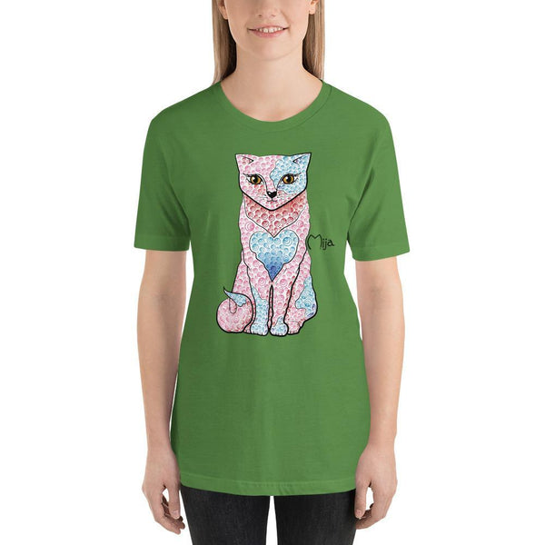 Leaf / S Mija cat | Short-Sleeve Unisex T-Shirt Kadance Shop