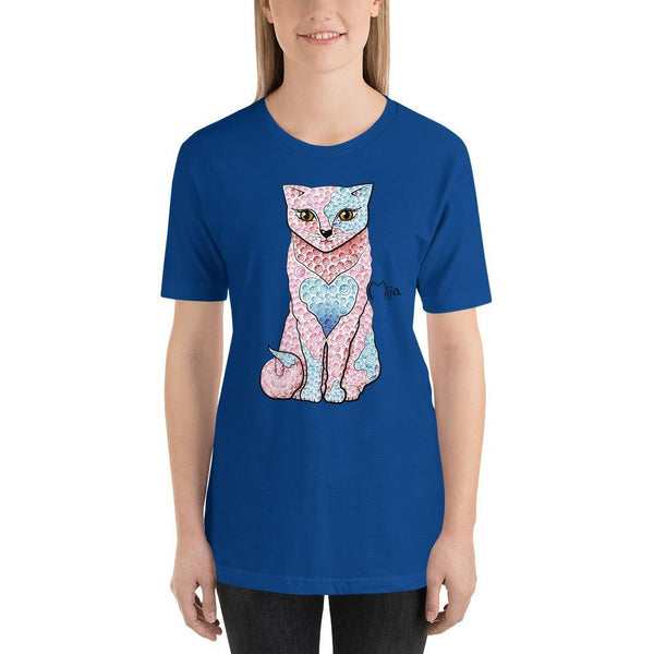 True Royal / S Mija cat | Short-Sleeve Unisex T-Shirt Kadance Shop