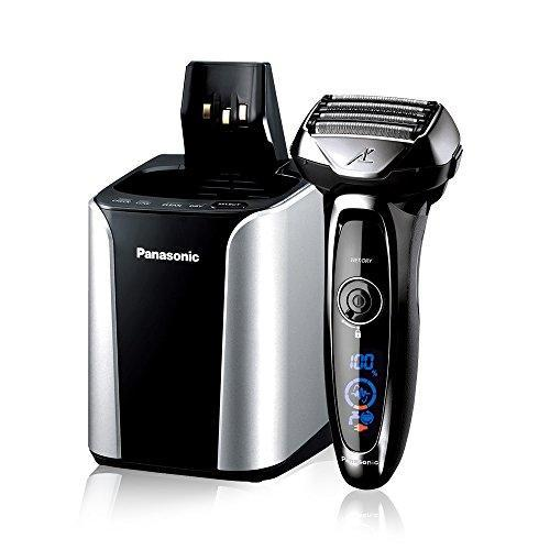 Panasonic Electric Shaver and Trimmer for Men; ES-LV95-S ARC5; Wet/Dry with 5 Blades and Flexible Pivoting Head; Includes Premium Automatic Clean & Charge Station Panasonic