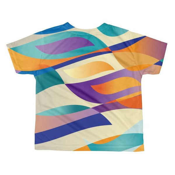 Percival Cat | All-over kids sublimation T-shirt Kadance Shop