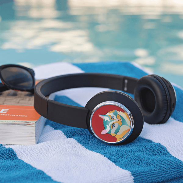 Headphones Percival Cat | Beebop Bluetooth Headphones teelaunch