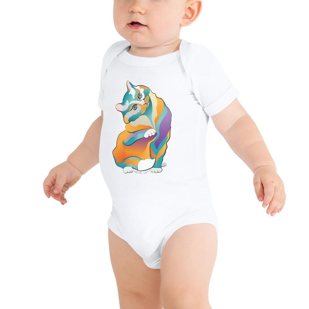 3-6m Percival Cat | T-Shirt Kadance Shop